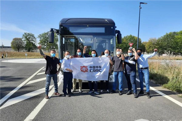 CRRC Electric's Intelligent Buses Start Operation in Paris