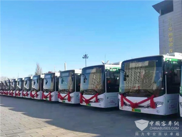 CRRC Electric Ranked the Third Place in China's New Energy Bus Market in 2020