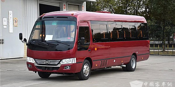 Ankai F7 Luxury Mid-buses Delivered to Chile for Operation