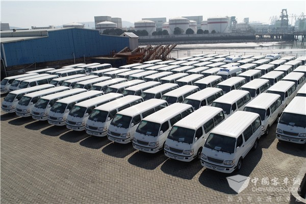 XKIT Exports 530 Units Vehicles to Customers in Egypt ...