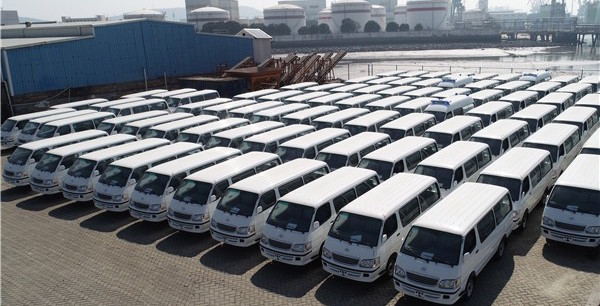 XKIT Exports 530 Units Vehicles to Customers in Egypt for Operation