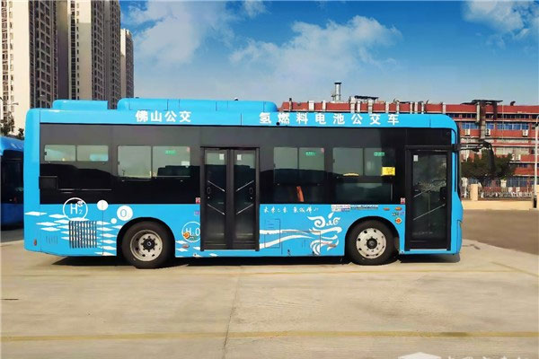 Zhongtong Actively Promotes Commercial Operation of Hydrogen Fuel Cell Buses