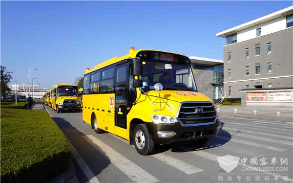 Ankai School Buses to Arrive in Guangxi for Operation