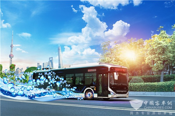 Zhongtong to Deliver Hydrogen Fuel Cell Buses to Jinhua for Operation
