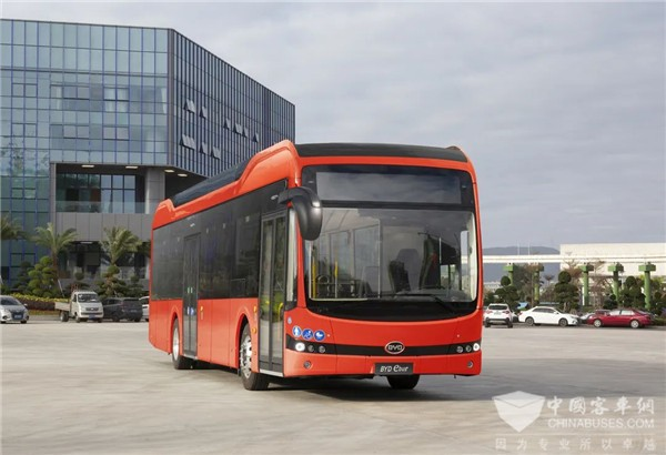 BYD to Deliver Electric Buses to Germany for Operation