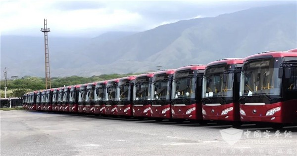 200 Units Yuchai Engines Powered Yutong Buses Delivered to South America for Operation