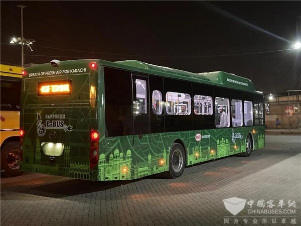 Pakistan is Embracing its First Electric Bus Made by BYD