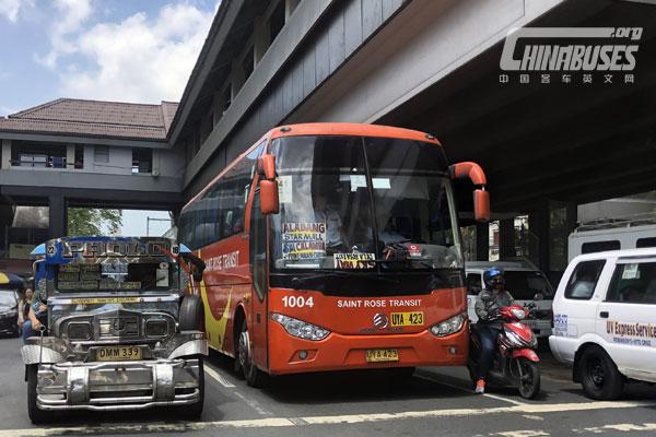 Golden Dragon Buses Serving for Philippines Market