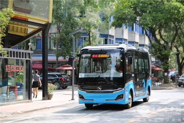King Long Buses Provide More Convenient Transportation Services for Commuters in Guangzhou