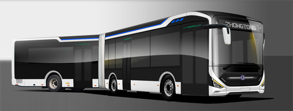 Zhongtong Secures an Order of 100 Units 18-meter City Buses from Karachi