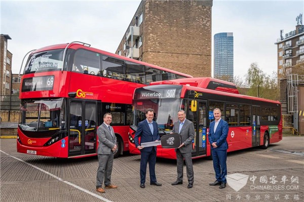 The 500th BYD ADL Electric Bus Delivered to Go-Ahead London