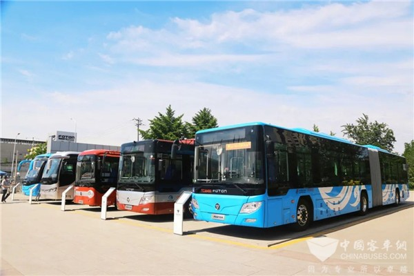 Foton AUV Buses Usher in A Brand New Era of Green Transportation in Lhasa