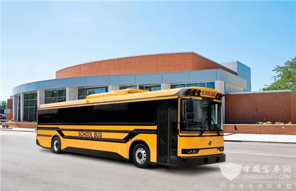 BYD Electric School Buses Start Operation in Los Angeles