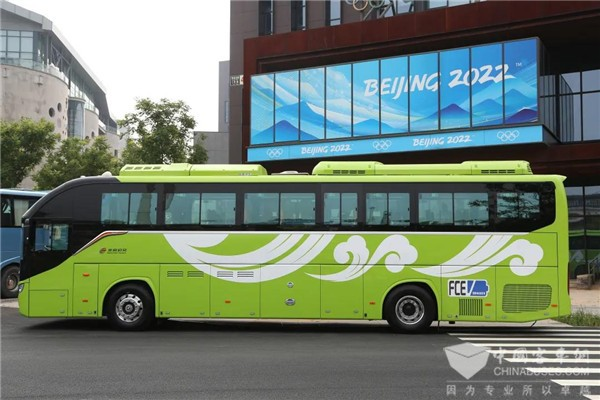 Foton AUV BJ6122 and BJ6906 Hydrogen Fuel Cell Buses Serve Belt and Road Tourists