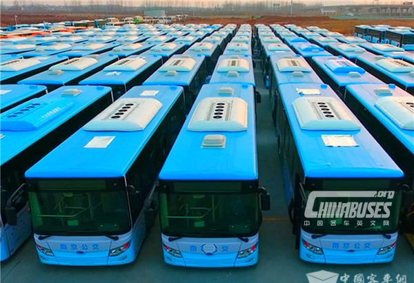 25 Units Skywell New Energy Buses Arrive in Changji for Operation