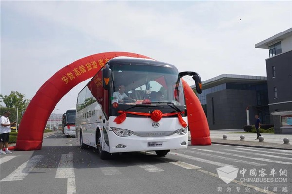 Ankai High-end Travel Coaches A6 and A8 to Arrive in Yunnan for Operation