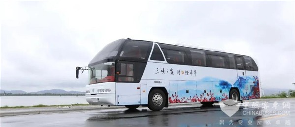 CRRC Electric Travel Coaches to Serve Tourists in Xinjiang