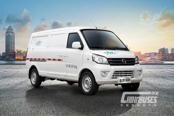 Golden Dragon to Provide 3,000 Units Electric Logistic Vehicles GLE550 to Shenzhen