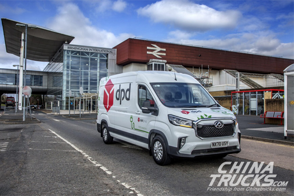 MAXUS and Harris Group Supply DPD UK with 750 Electric Vans