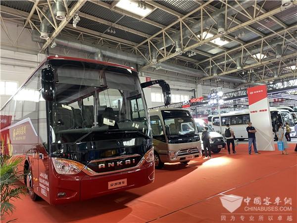 Ankai New Generation Best N7 Makes its Debut in Beijing