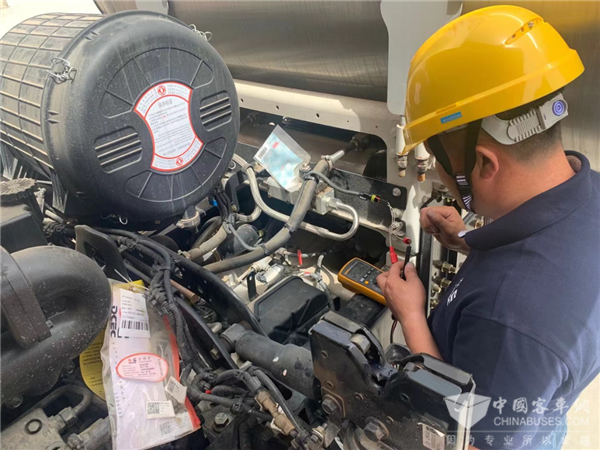 Dongfeng Cummins Launches 2021 Service Skill Competition in Ningxia