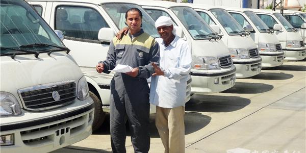Golden Dragon Light Van: A Bus Legend in Egypt