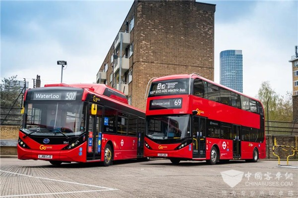 The Chinese Bus Company BYD Driving UK's Electric Bus Boom