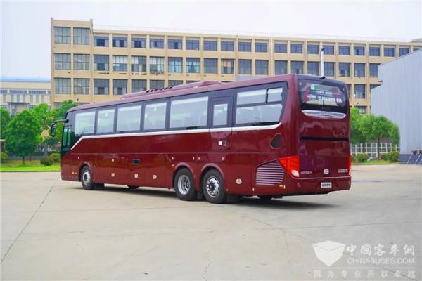 Ankai Rolls Out 13.7-meter A9 Coach to Meet Passengers' Growing Demands