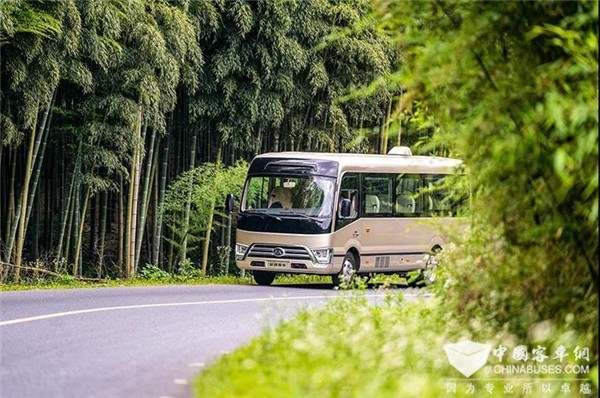 Ankai Best N7 Sets New Highest Standards for Business Reception Coach