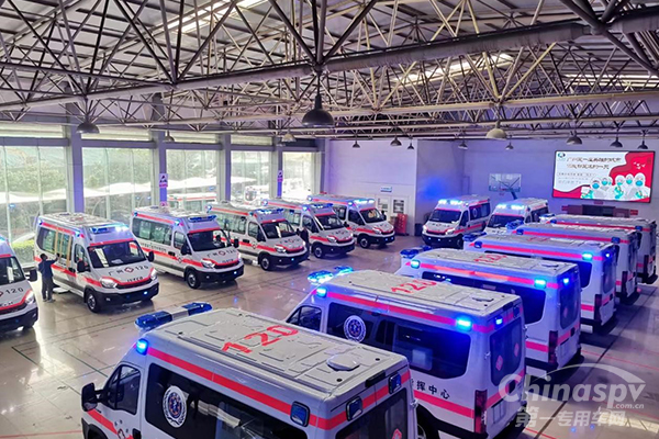 NAVECO Negative Pressure Ambulances Assist in Fighting Against the Epidemic