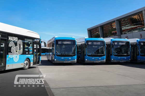 BYD is Selected Again for Third Fleet Order by EMT Madrid