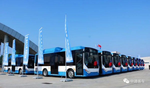 211 Units Zhongtong Buses to Arrive in Armenia for Operation