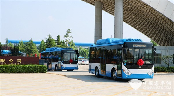 The Number of Zhongtong FASHION City Buses in Operation Exceeds 50,000 Units