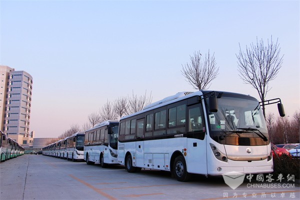 Zhongtong Three Bus Models Fully Prepared for Promoting Rural Public Transport