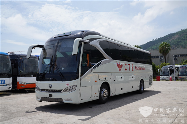 50 Units Golden Dragon High-end Coaches to Arrive in Côte d'Ivoire for Operation