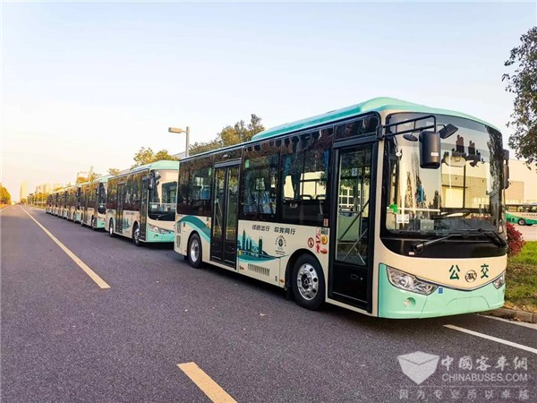 Ankai Buses Officially Start Operation in Jinhua