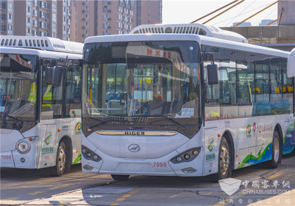 Higer Buses Promote Passenger Transportation in Rural Area in Zigong,China