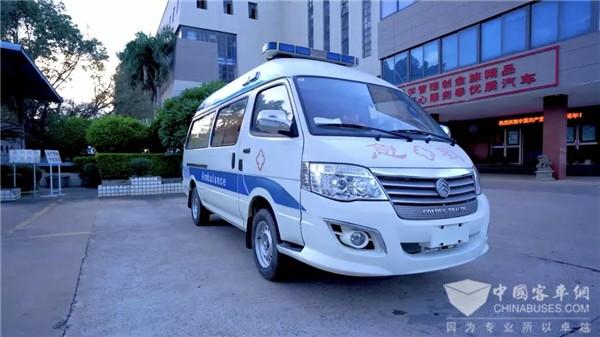 15 Units Golden Dragon Negative Pressure Ambulances Delivered to Xiamen to Contain COVID-19