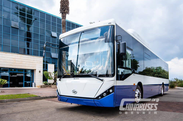 Higer Bus 12m Electric Chassis, A New Batch to Israel