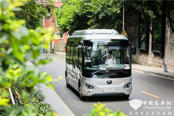 Yutong Sold 2,751 Units Buses in September