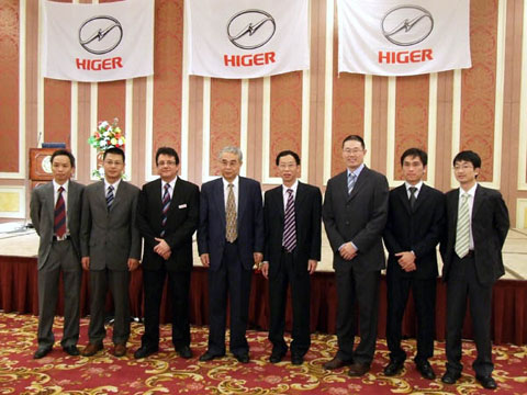 Higer Bus Held Launching Ceremony in Saudi Arabia -news-www