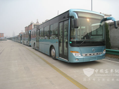 Ankai pure electric buses
