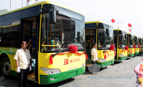 The drivers for King Long buses