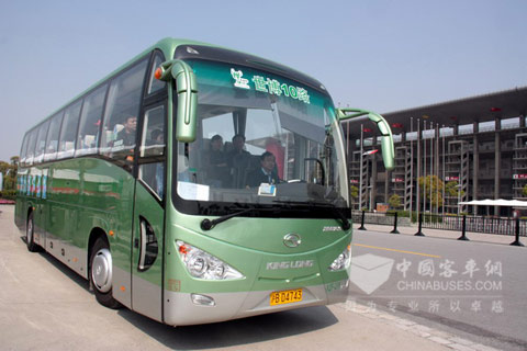 King Long bus is popular in No.10 route