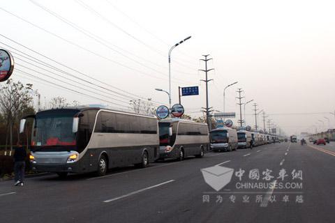 Zhongtong Caesar buses