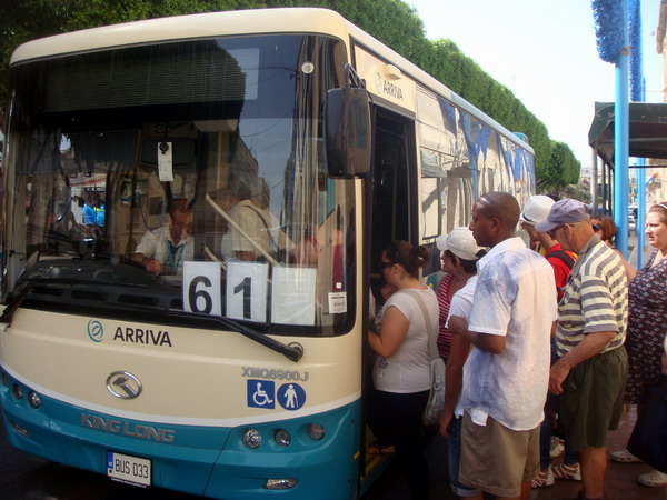 King Long Bus Was Welcomed by the Maltese