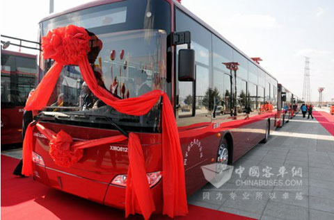 30 units of King Long XMQ6127G buses are ready for operation
