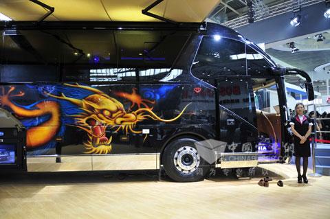 Scania Higer Motorhome Spotlights Auto China 2012 News Www