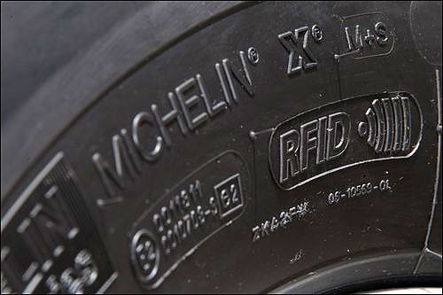 Michelin Uses RFID to Track Tire Pressure and Tread for ...