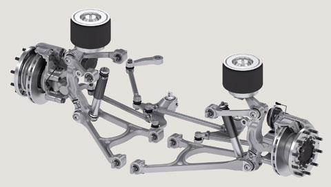 The Rl 75 Ec Low Floor Independent Suspension From Zf